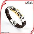 venta al por mayor de pulseras de cuero de moda los accesorios 2014 nuevos productos en el mercado de china