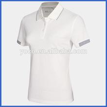 Nano Silver moisture wicking golf polo shirt for women