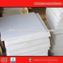 China Natural snow white marble stone,Cheap natural white marble stone paving stone