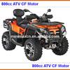 800cc Utility ATV 4x4 Shaft Drive Fully Automatic CF Motor