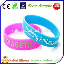 2PCS training ambassador new popular silicone rubber wristband watch