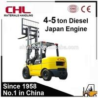 Japan Mitsubishi Engine 5 Ton Forklift Price Diesel 5 Ton Forklift