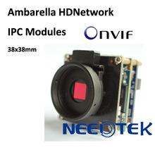 Ambarella digital camera CMOS 2 Megapixel HD Network Camera Module H.264, Onvif Compatibility