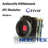 Ambarella digital camera CMOS 2 Megapixel HD Network Camera Module H.264, Onvif Compatibility