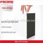 NEW! CE Rohs ETL Full Color 78mm Ultra Slim Super Slim Indoor P2.5 P3.75 P4 P5 P6 Outdoor P6.25 P8 P10 LED Display Wall Screen