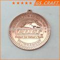De promoción de cobre medalla de metal, medallón de bronce