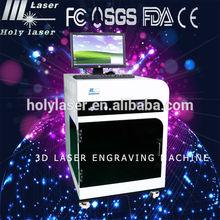laser welding machine inside/inner crystal 3d laser engraving engraver machine For Crystal Crafts And Glass 300*400*150mm