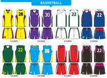 High Quality Team Sublimated Custom Basketball jersey
