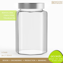 Summer Promotion Cheap Borosilicate Glass Canning Jars