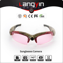 1440*1080 real full HD Video Sunglasses Camera optional lens 15M Pixel photo image resolution
