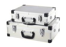 Case type silver Aluminum Tool Case hand tool set& metal tool box.