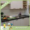china cheap ready to assemble modern modular high gloss kitchen cabinets