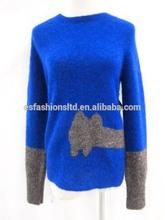 Women wool Angora Sweater Top