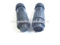 8 pins M19 male plug and female socket waterproof connector