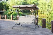 Hot sale 3 seats garden outdoor balcony hanging swing chair