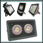Waterproof IP65~66 die cast aluminum housing 100W led flood light