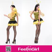 ingrosso a buon mercato divertente nuove donne carino ape costume ali