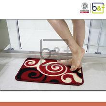 China durable unique non slip bathroom floor mat,bathroom mat
