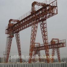 Single girder gantry craen 16 ton crane with competitive price