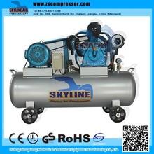 Industrial Belt Drive Piston Type Electric Air Compressor