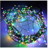 outdoor christmas led falling snow lights Waterproof LED copper lights 12v battery 1.5m 200leds