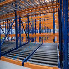 Strong steel industrial Pallet live storage racking