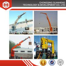 Hydraulic Folding Arm Crane 3 ton, 5t 10t 15t 20t 25t 30t