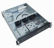 "2u 19"" security system and network rack mount server case"