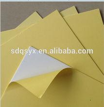 High Quality White/Black Self AdhesivePVC sheet For Sale