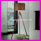 Wooden Tripod Table lamp light Standing Lamp