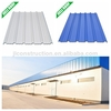 New building material plastic corrugated roofing sheet for shed
