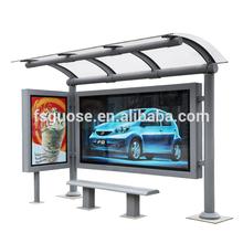 led street light solar billboard advertising light steel frame house aluminium light frame bus shelter