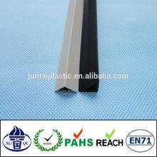 customized pvc chamfer edge profile for construction