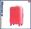 2014 New design light weight PC spinner four wheels luggage set