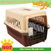 High quality plastic dog carriers with wheels