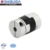 electric motor tapered shaft coupling flexible rubber