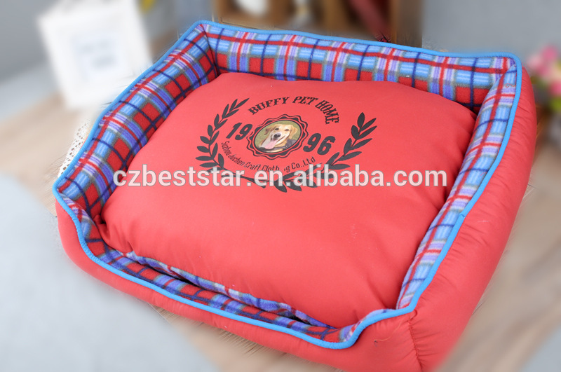 High Quality! waterproof Soft dog kennel cat house rose red