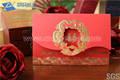 Verde manzana de la tarjeta de invitación de boda/de boda de lujo tarjeta de invitación/3d invitación de la boda de la tarjeta