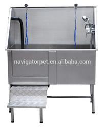 Durable Stainless Steel Pet Bath Tub