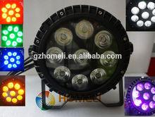 NEW PRODUCT 9 pcs 12 W 6in1 waterproof PAR light