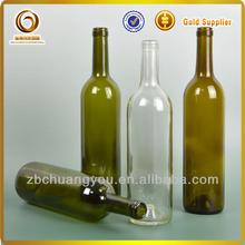 750 ml botella de vidrio / de vino tinto seco marcas / mejor calidad de vino tinto de la marca