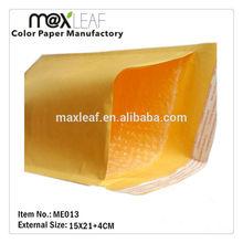 Gold Kraft bubble padded envelopes