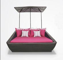 cheap patio furniture rattan lounger sun bed