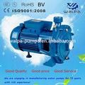 Alta taxa de fluxo de água bomba centrífuga scm2-52 1.5hp motor elétrico da bomba de água com impulsores dupla