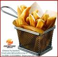 china lieferant volle Größe edelstahl easy clean Käse siebe mit draht griffe mesh kulinarischen körbe mini braten körbe