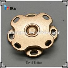 design decorative Wheel shape fashionable coat fastener