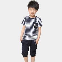 venta al por mayor de la marina camisa de guangzhou conjunto ropa de niños de la importación de ropa procedentes de china