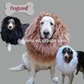 cabelo juba festival festa fantasia vestido traje leão cão pet peruca