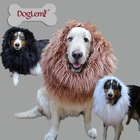 Mane Hair Party Festival Fancy Dress Costume Lion Pet Dog Wig
