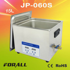 chinaware/pottery/ceramic ware ultrasonic cleaner(15L, with timer&heater)